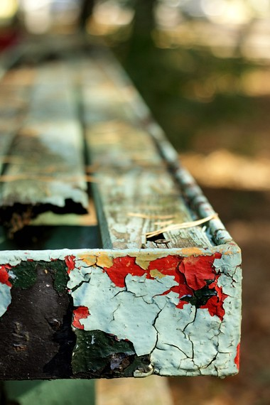 Bench in color
